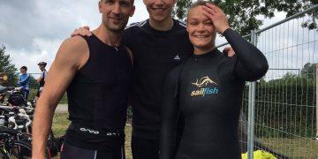 Triathlon in Cuijk aan de Kraajenbergse Plassen