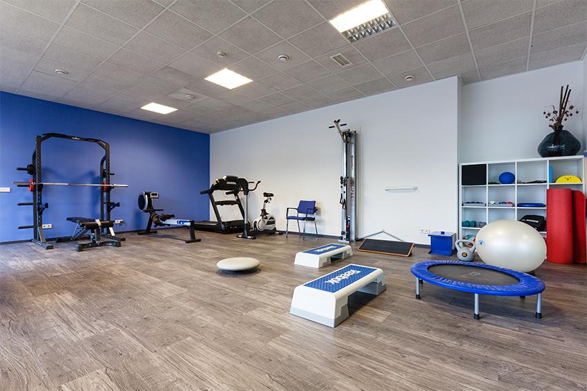 Fitnessruimte fysiotherapie | Cuijk Centrum