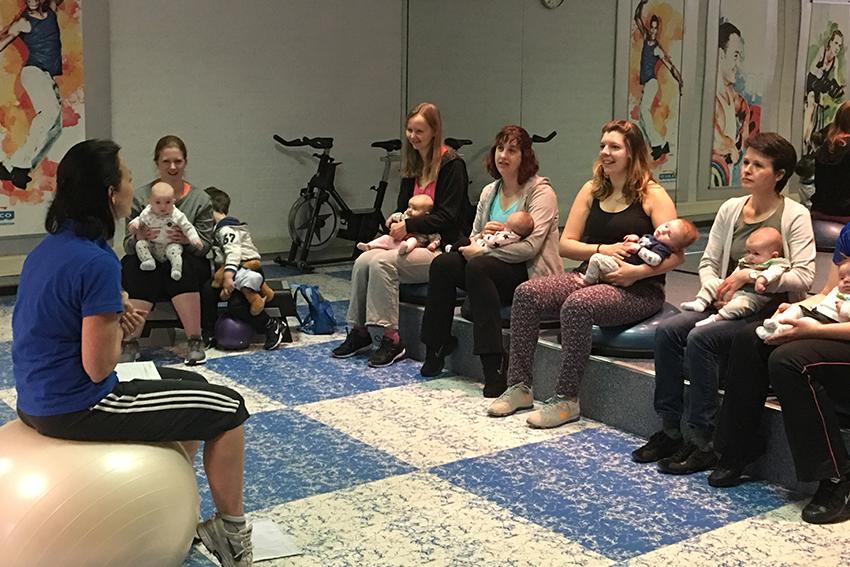 MamaBabyFit / ZwangerFit | Fysiotherapie Cuijk Centrum