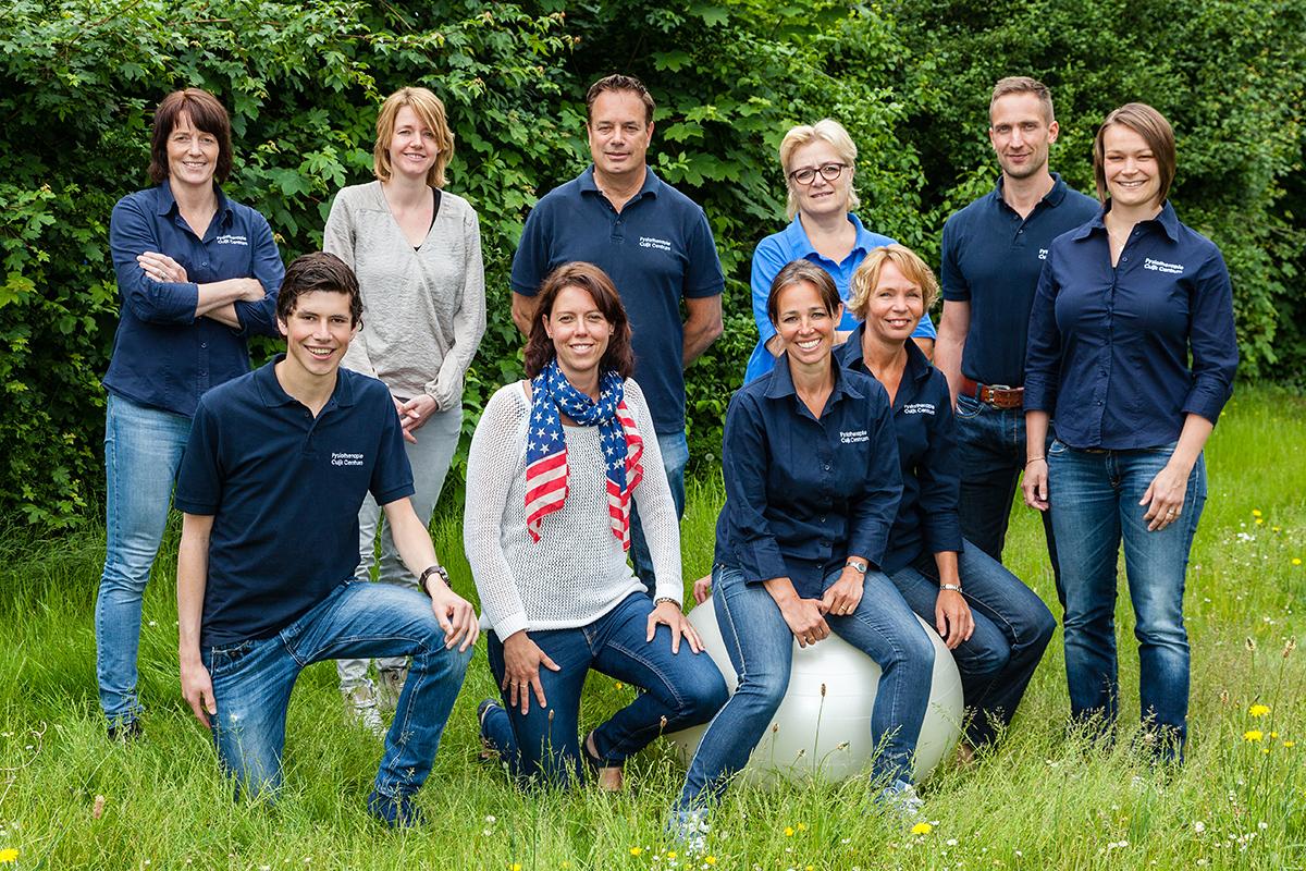 Team inclusief | Fysiotherapie Cuijk Centrum